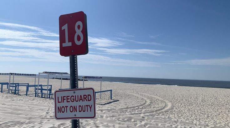 Cape May beach lifeguard