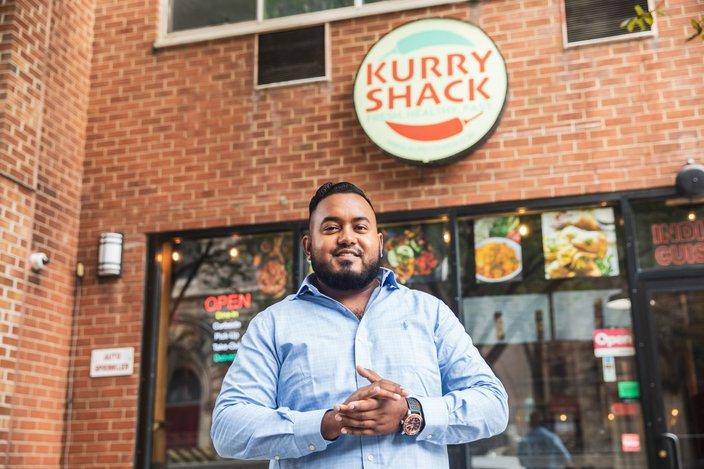 Kurry Shack Owner Shafri Gaffar