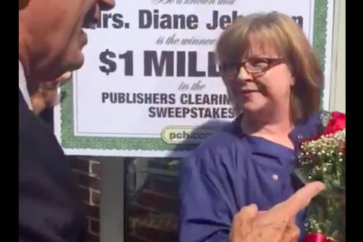 WATCH: Publishers Clearing House surprises Chester County woman with
