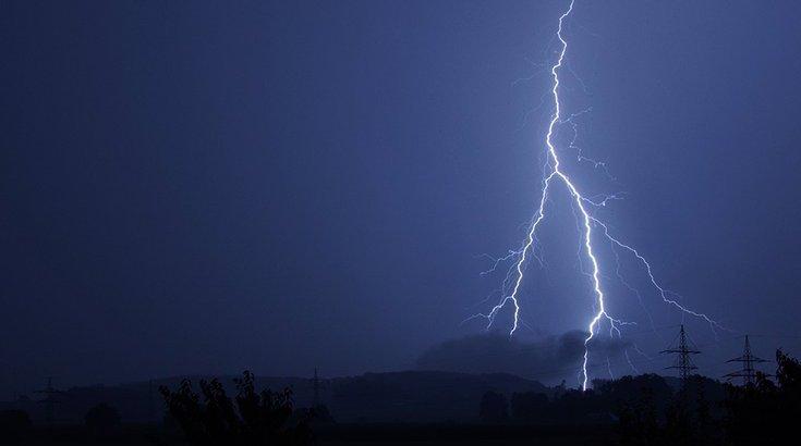 Lightning strike death