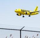 Carroll - Spirit Airlines airplane
