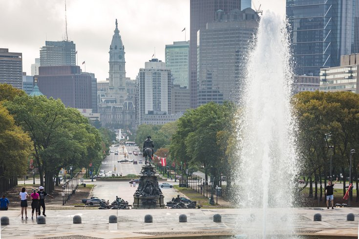 Carroll - Philadelphia City Hall and the Benjamin Franklin Parkw
