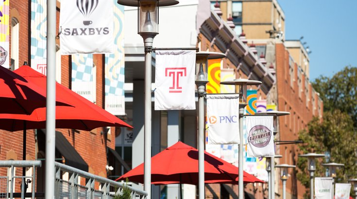 Stock_Carroll - Temple University Campus, Liacouras Walk