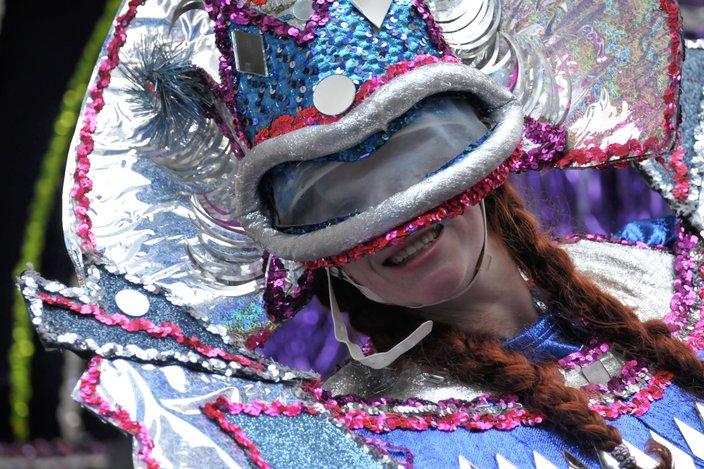 2019 Mummers Parade south broad 2