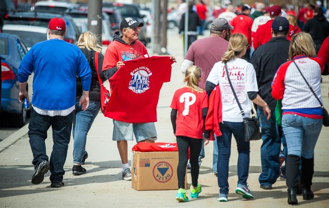 Carroll - Phillies Home Opener T-Shirts
