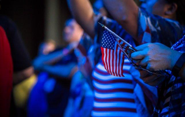 Carroll - Camden Rising American Flag