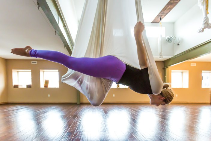 We Tried It Aerial Yoga Phillyvoice