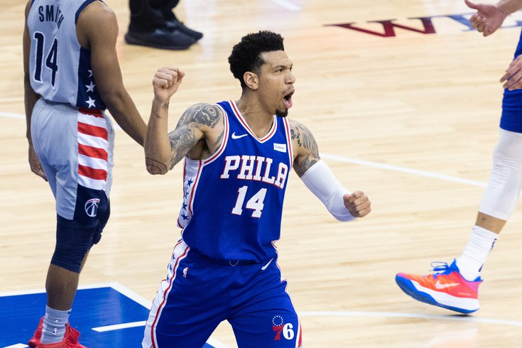 Danny Green Sixers Philly