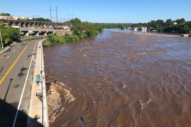 Philadelphia flooding Ida