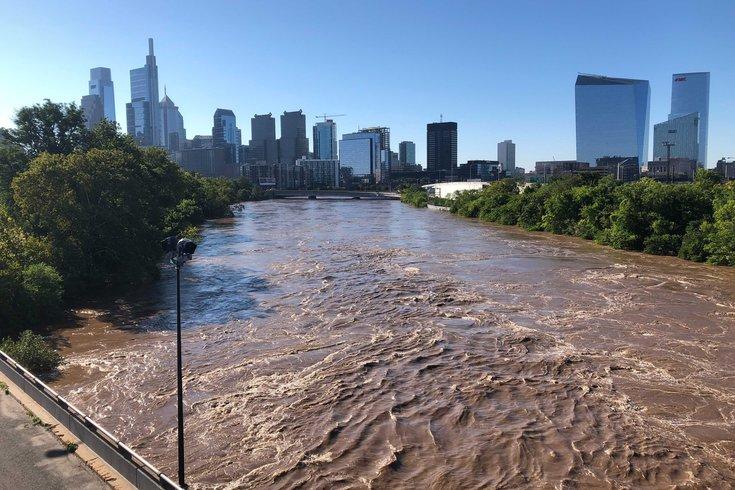 Philadelphia Schuylkill River flooding