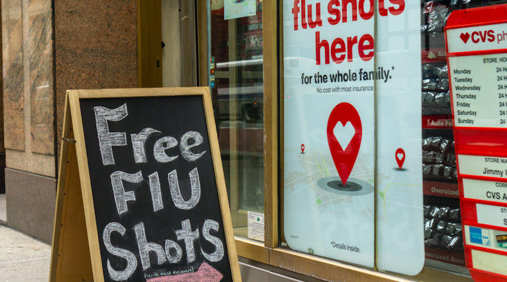 Flu vaccination and autism risk