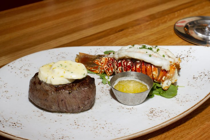 Urban Farmer steak and lobster dinner