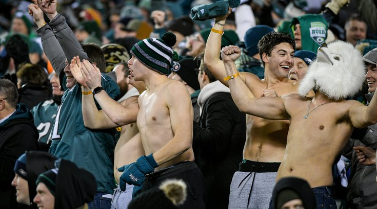 Eagles tailgate watch party