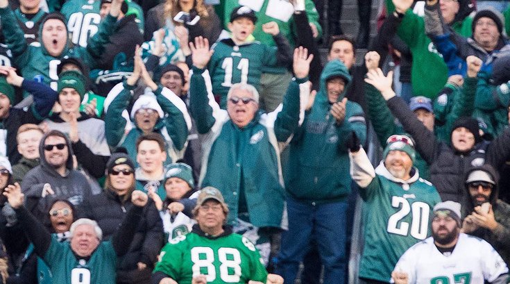 Philadelphia Eagles fans 09112019