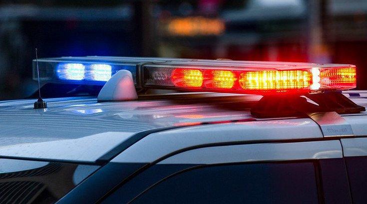 Stolen Temple University Police Car