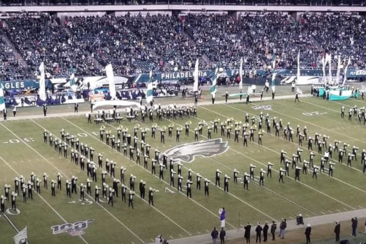 West Chester University marching band