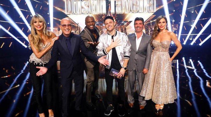 America's Got Talent Dustin Tavellas