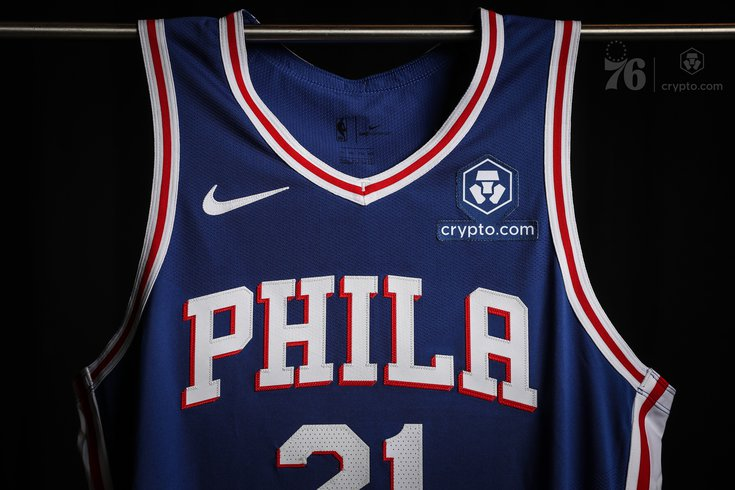 Sixers Crypto Jersey Patch