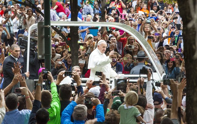Carroll - Papal Visit Pope Francis