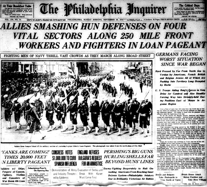 100 years ago, 'Spanish flu' shut down Philadelphia – and wiped out