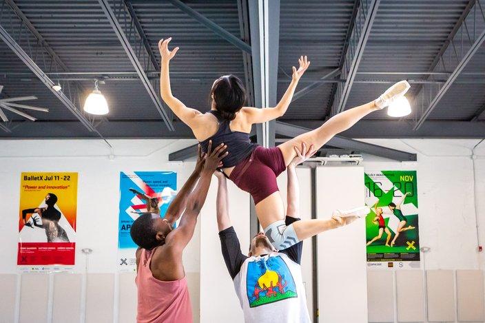 Carroll - BalletX rehearsal
