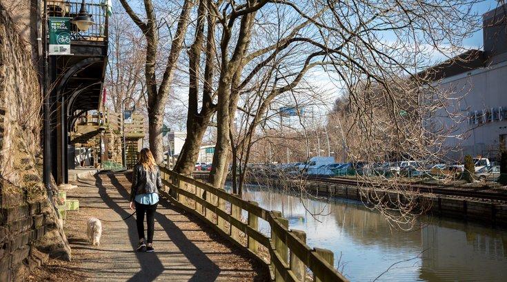 Stock_Carroll - Walking along the Manayunk Canal