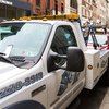 Carroll - Parking ticket on a tow tuck in Center City