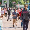 Stock_Carroll - Temple University students walking to class