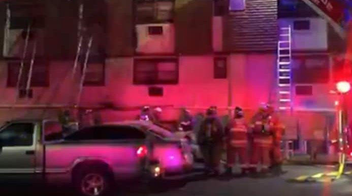 Camden County Buttonwood Village apartment fire