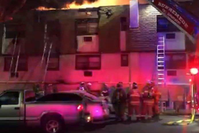 Camden County Buttonwood Village apartment fire
