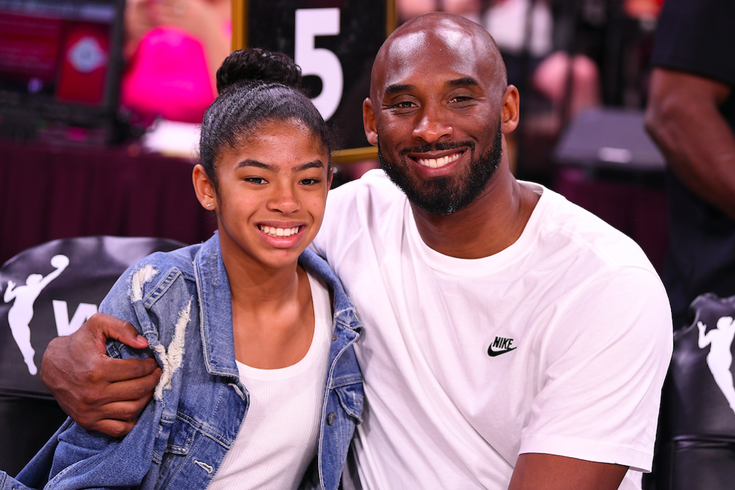 Kobe Bryant Gianna Lakers