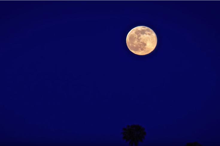 Full Wolf Moon lunar eclipse