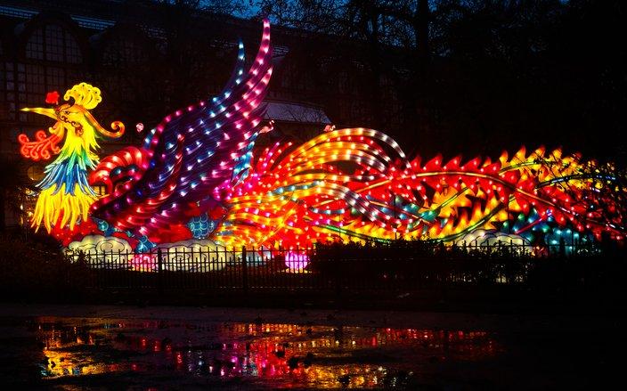 Chinese Lantern Festival's phoenix
