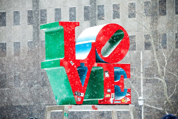 Carroll - LOVE Park sign