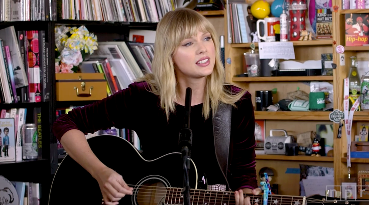 Taylor Swift Tiny Desk npr