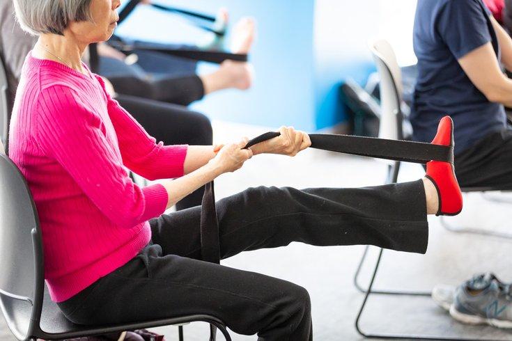 Chair yoga dementia patients