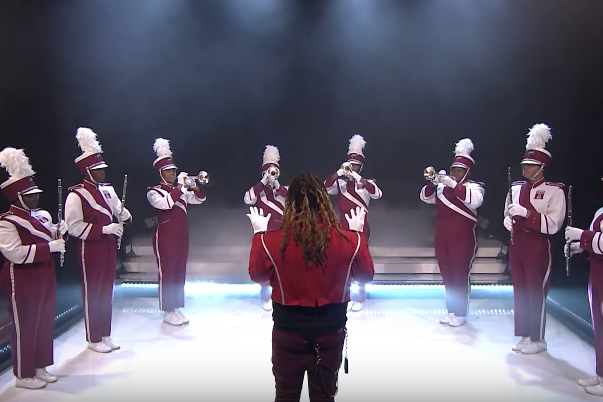Temple marching band Young Thug