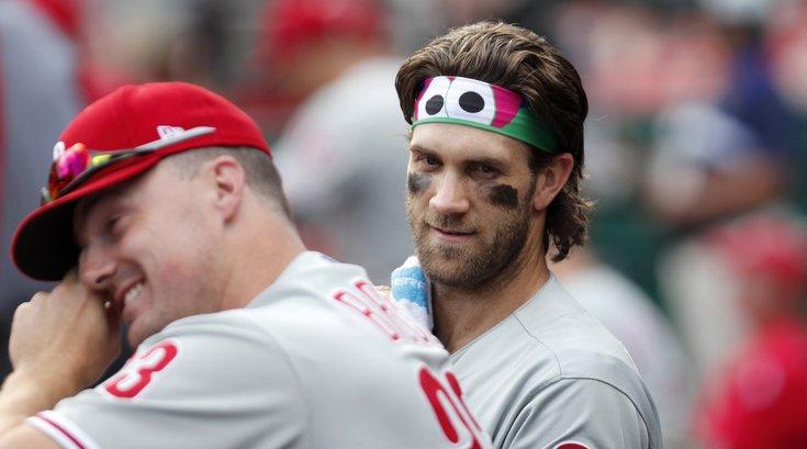 Bryce Harper trolled Phillies Nationals