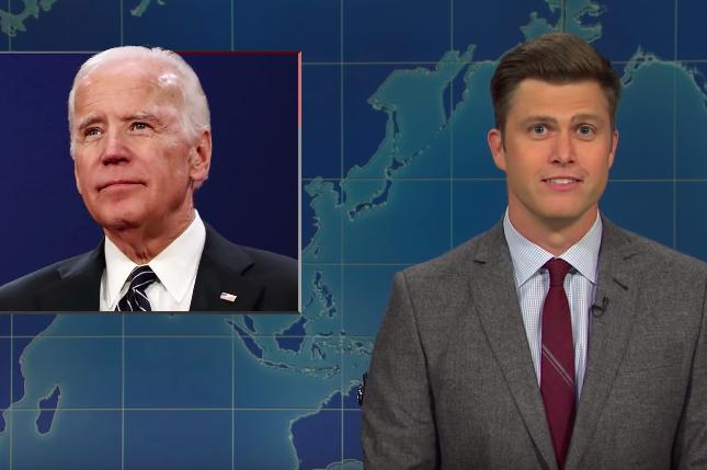 SNL Weekend Update Joe Biden