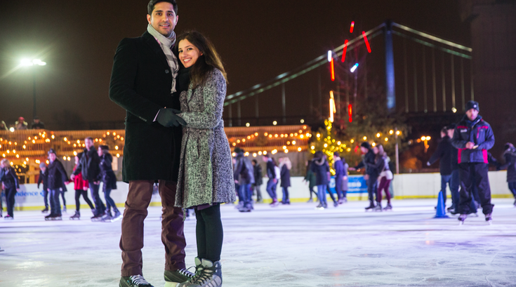 Sweetheart Skate at Blue Cross RiverRink Winterfest