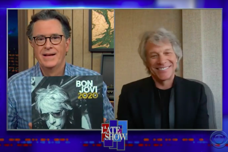 Bon Jovi Stephen Colbert