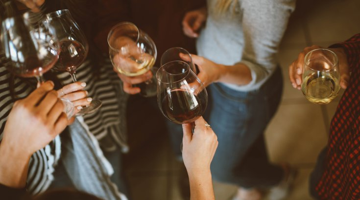 Alcohol breast cancer risk
