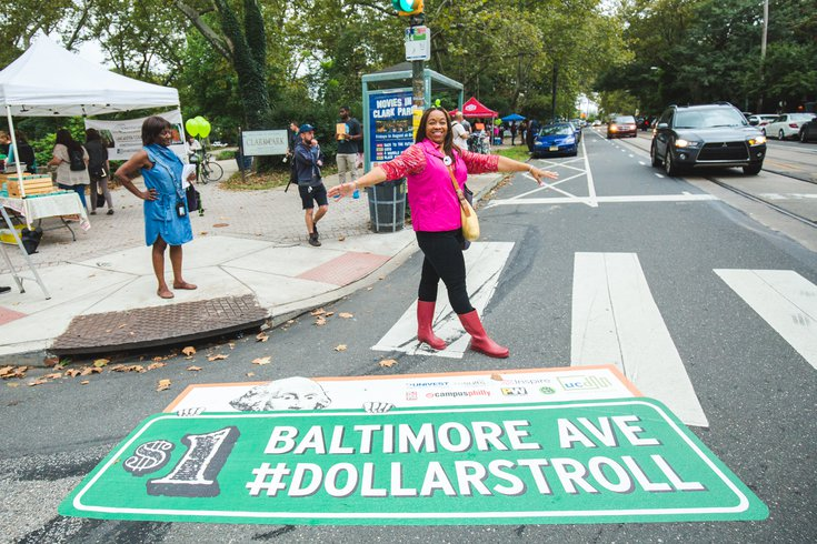 Baltimore Avenue Dollar Stroll