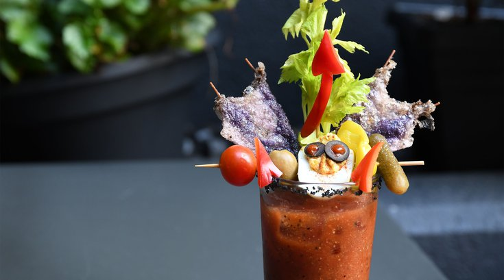 Bloody Mary Monster Mash