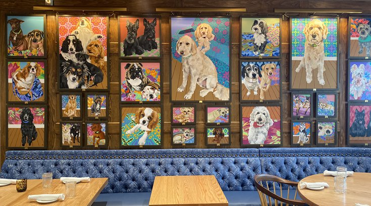 White Dog Cafe in Glen Mills