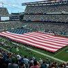 Mullen - American Flag at Eagles Game