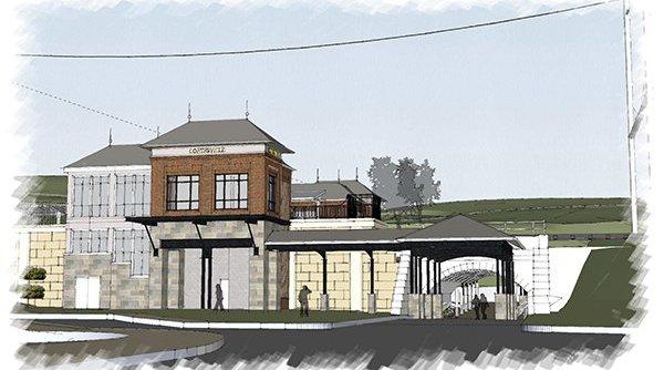 Coatesville train station project
