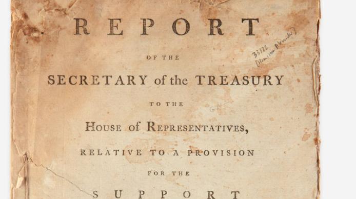 Alexander Hamilton auction Philly