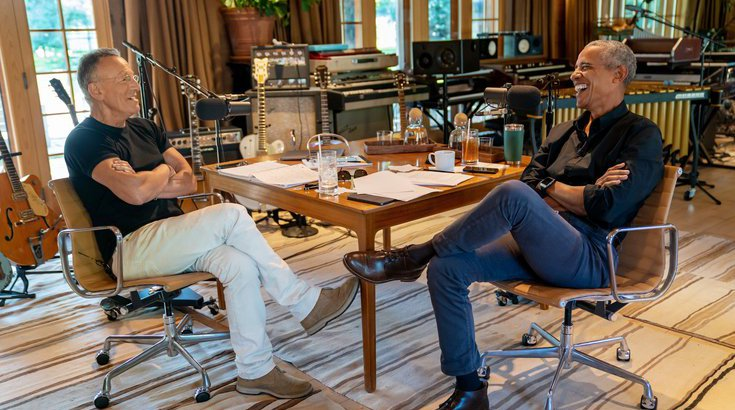 Bruce Springsteen Barack Obama Renegades