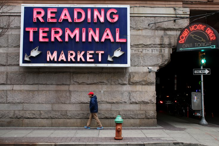 wine and spirits at reading terminal